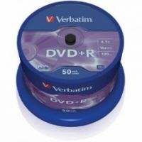 Verbatim DVD+R 4.7GB 16X 50pack