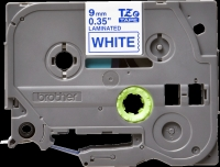 Brother Tape Brother 9mm BLUE ON