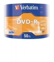 Verbatim DVD-R 16x 4.7GB 50P SP
