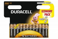 Duracell Basic AAA / LR3 batteries