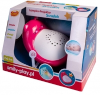 Smily Red ground sleeper lamp