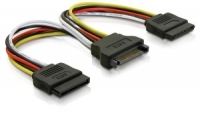Delock cable power SATA 15pin > 2x
