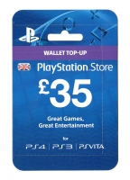 Sony ce PSN Card 35 GBP UK PSN IDs