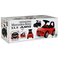 Skrejrats Mercedes Benz balts (300232)